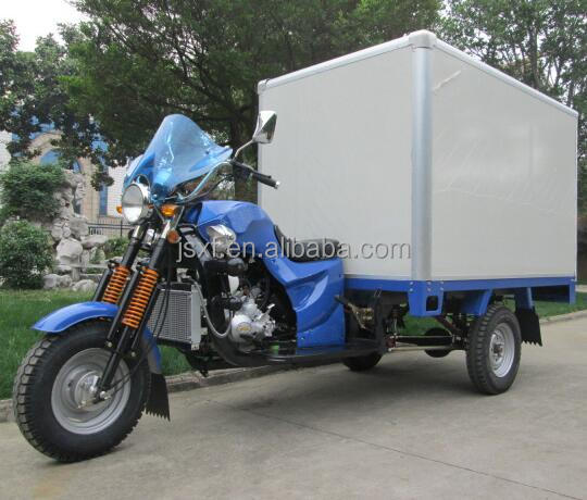 150CC/200CC/250CC Cargo tricycle,Three wheels motorcycle,Insulation tricycle,Container box tricycle