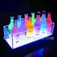 OEM China Supplier Wholesale Acrylic LED Ice Bucket, Customize Acrylic Led Ice Bucket