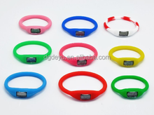 New Arrival Cheap Wristwatches, Jelly Colorful Wristband Silicon Watches for Women