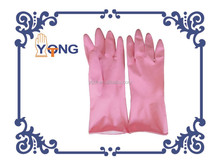 household latex glove pink color