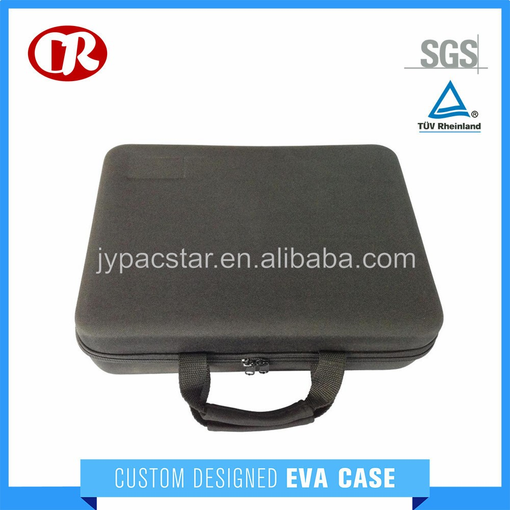 EVA case with hard molded protective equipment inspection case