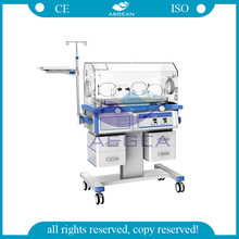 AG-IIR001C with LED phototherapy unit professional medical baby incubator