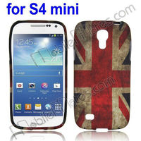 British Flag Retro Protective Back Cover Soft TPU Case for Samsung Galaxy S4 Mini