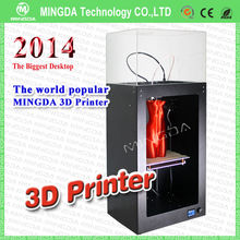 High Accuracy MingDa FDM Rapid Prototyping 3D Printer / Digital 3d iphone case sublimation printing machine