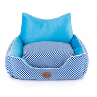 Waterproof fabric hot selling pet bed pet's pad dog bed with soft back cushion