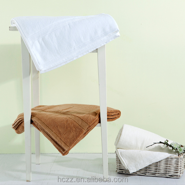 100% Cotton White Hotel Bath Towels