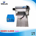 6040V 2.2KW 3axis mini CNC router with limit switch and 2.2KW VFD water cooling spindle wood metal lathe