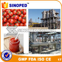 tomato sauce machine price/tomato paste production line