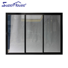 interior and exterior with AS2208 Double Glazing Glass Cheap price sliding glass door for living room