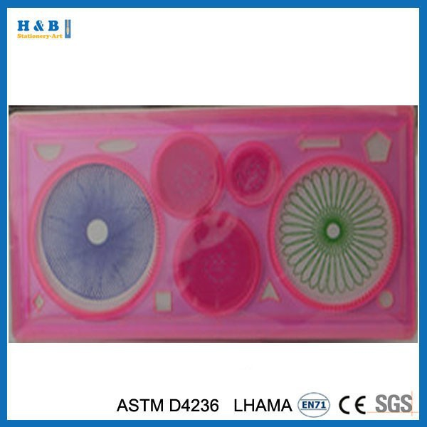 2014 hot selling diy education spirograph toy