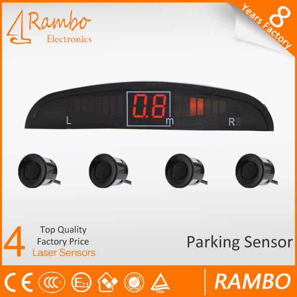360 degree parking sensor monitoring system