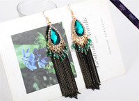 Hot sale!!! 2015 Latest Fashion Style tassel earrings for party