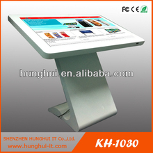 Slim Modern Design 32inch Interactive All In One Touch Kiosk