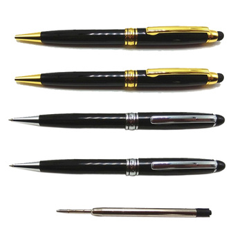 high quality metal mont blank pen with big metal refill ink