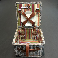 2015 hot sale wicker picnic basket supplier,mini picnic basket