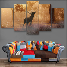 Custom canvas prints 5 panel wall art painting for picture