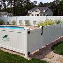 Hight Quality PVC privacy fence for garden/ house/ pool/ yard use