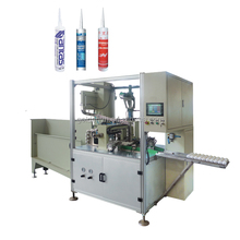 fully automatic cartridge filling and dosing machine designed for high viscosity material