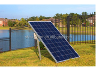 100 Watt 100w Monocrystalline Photovoltaic PV Solar Panel 12V Battery Charging