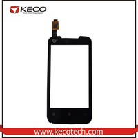 with Logo Highscreen Touch Panel Glass Digitizer Screen Replacement Parts For Lenovo A390t Black