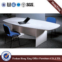 Competitive Price Office All White Color Melamine Meeting Table (HX-5DE293)