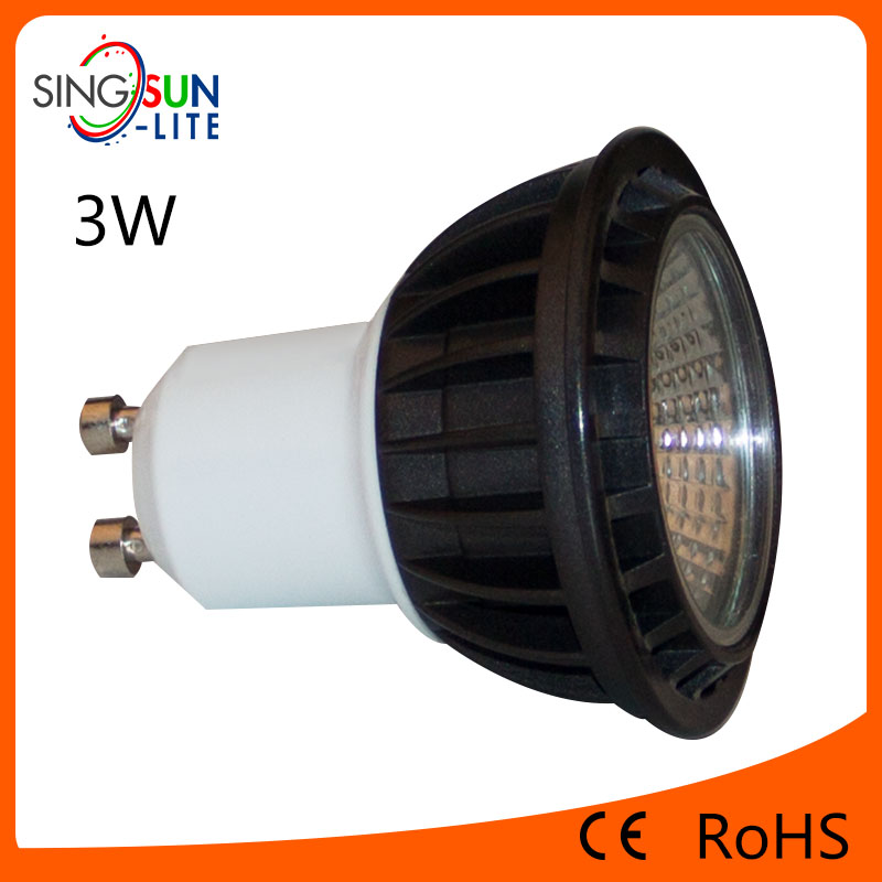 hot sale china factory price new products ce rohs 3w 4w 5w cob 3w led downlight casing (professional COB led lamps manufacturer)