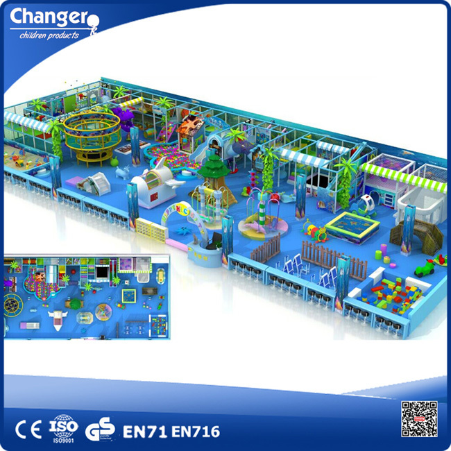 TUV Test Theme Indoor Outdoor Children Amusement Park Equipment