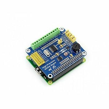 High Precision AD/DA Module ADS1256 DAC8552 For Raspberry Pi
