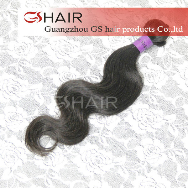 2013 new products on market tangle free natural color can be permed silky hair