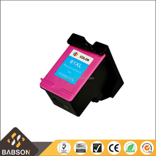 Hot Sale Compatible color Ink cartridge 61XL for HP CH564WN