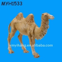 resin camel figurine for both home decoration