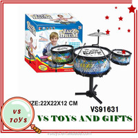 2014 new intelligence toy plastic drum kids names of musical instruments