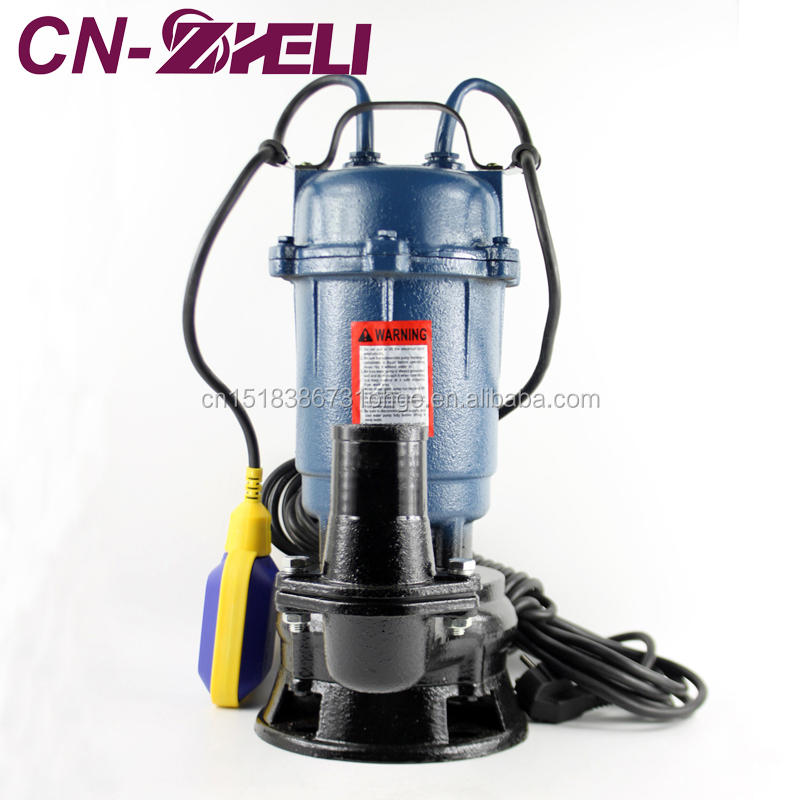 WQD Type Russian Water Submersible Pump Sewage Floating Submersible Pump