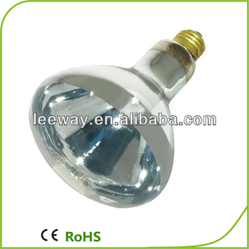 E26 250w r125 waterproof bathroom lighting buy for Portable heat lamp for bathroom
