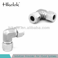 stainless elbow price 3/8 elbow fitting instrumentation tube fittings
