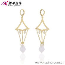 29702 Xuping new style best-selling magnetic 14k gold plated dangle earring import jewelry from China