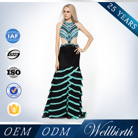 Sleeveless evening dresses 2015 indian style backless prom dress birthday dress for girl vestidos de noche