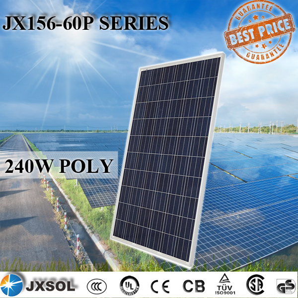 photovoltaic solar panels solar module 250w poly solar panel pv module for home power