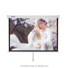 "SNOWHITE 100"" 4:3 Format 3V100MMV Manual Professional Plus pull down projection screen"
