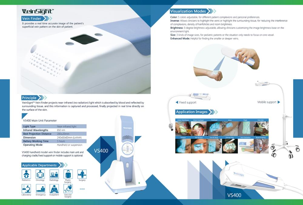 Hospital ordinary diagnosis equipment infrared vein finder low price