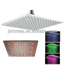 water power color change led light shower head