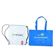 KHW top quality New recycle nylon foldable bag with pocket