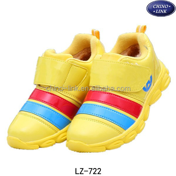 New model design cheap comfortable kids sport shoes
