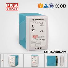 DIN rail power supply, 100W 12V Meanwell MDR-100-12 Switching power supply/SMPS/PSU