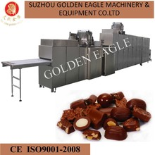 fully automatic chocolate moulding line