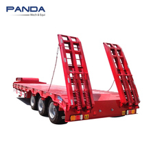 Panda 3 Line 6 Axles low bed semi trailer for sale