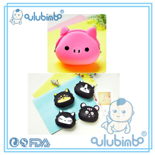 Custom Cheap silicone purse silicone coin purse