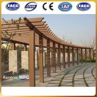 Wood plastic composite handrail escalator handrail/ handrail design for stairs