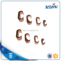 Hot Sell CCA series Copper Wire C Clamps/copper c clamp for electrical grounding system