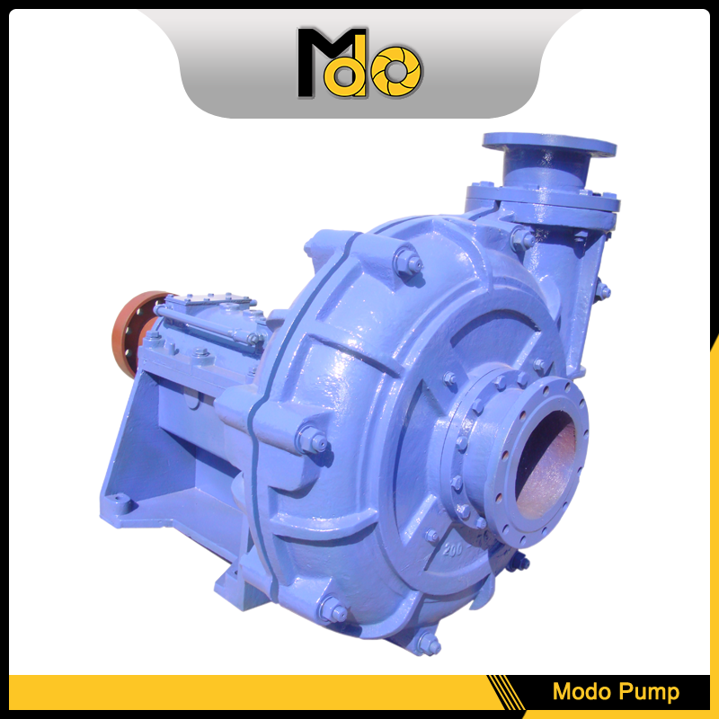 Mineral Grease Lubrication Horizontal Ming Slurry Pump